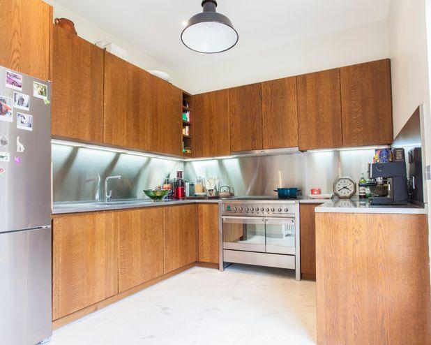 credence cuisine 300 cm. Black Bedroom Furniture Sets. Home Design Ideas