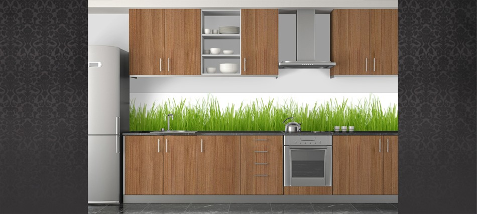 credence cuisine herbe