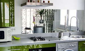 credence cuisine miroir avis