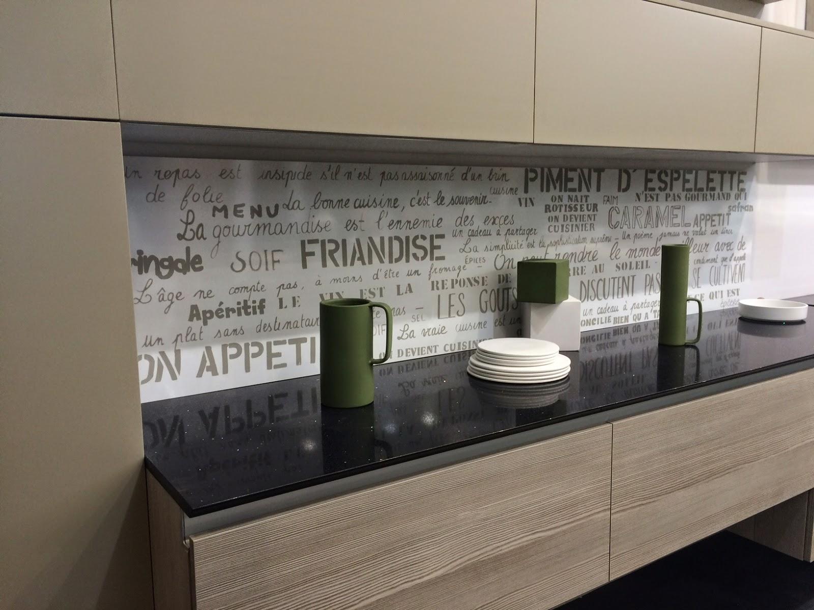 credence cuisine plaque