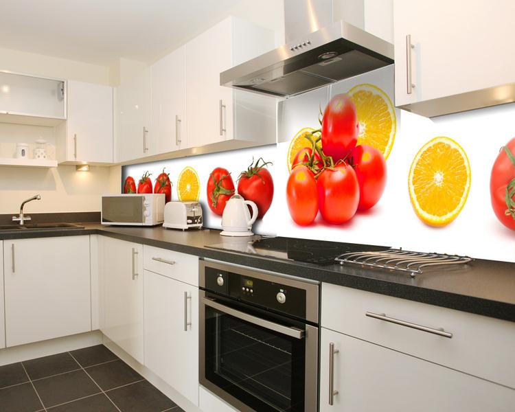 credence cuisine plexiglass