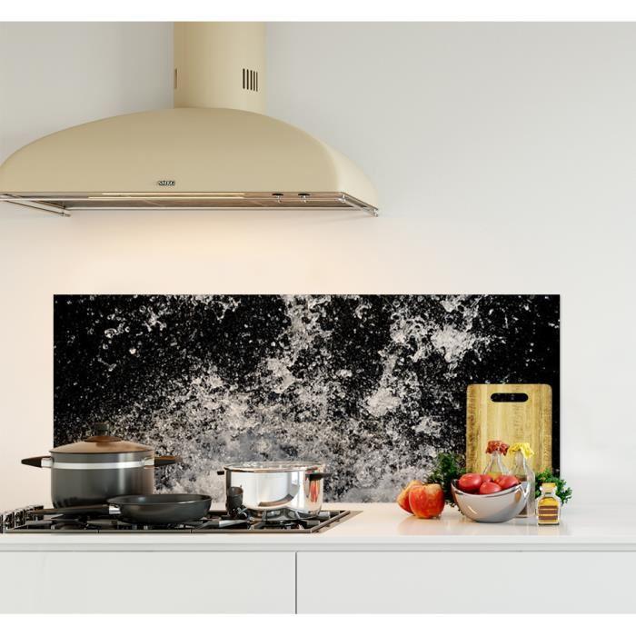 credence cuisine verre 120 cm