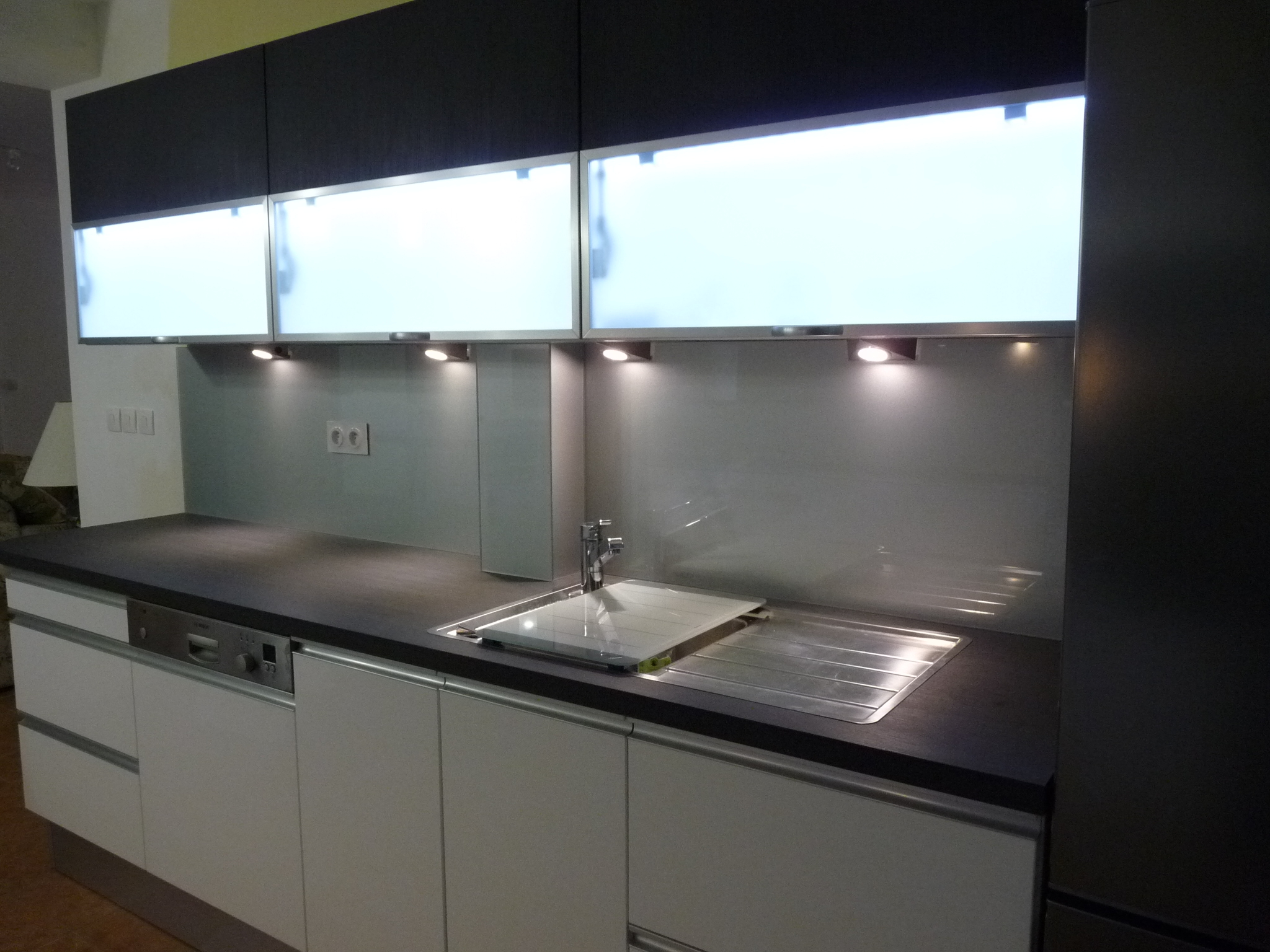 credence cuisine verre castorama. Black Bedroom Furniture Sets. Home Design Ideas