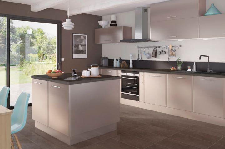 Ilot cuisine 100x100 - Plan de travail cuisine largeur 100 cm ...