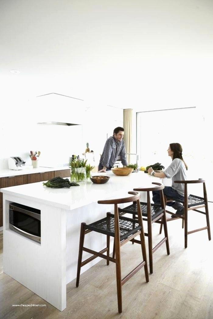 ilot cuisine avec chaise