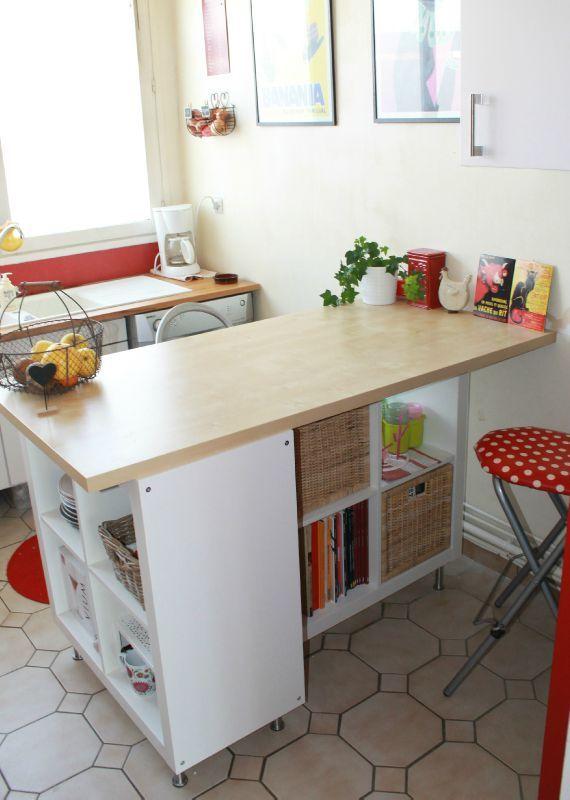 ilot cuisine fabrication maison