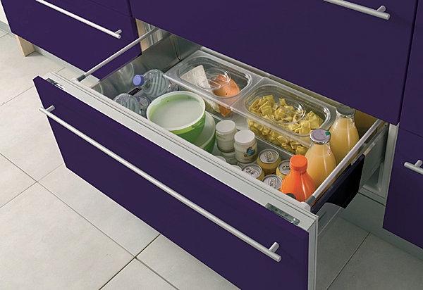 ilot cuisine frigo