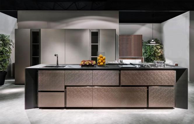 ilot cuisine haut de gamme. Black Bedroom Furniture Sets. Home Design Ideas