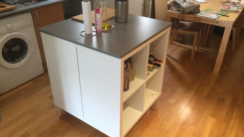 ilot cuisine ikea bidouille. Black Bedroom Furniture Sets. Home Design Ideas