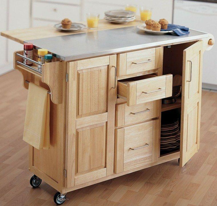 Ilot Cuisine Sur Roulettes Ikea