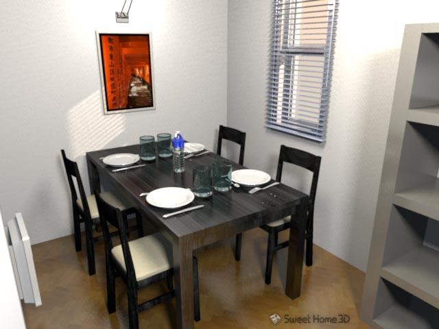 ilot cuisine sweet home 3d