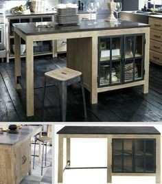ilot cuisine table ikea