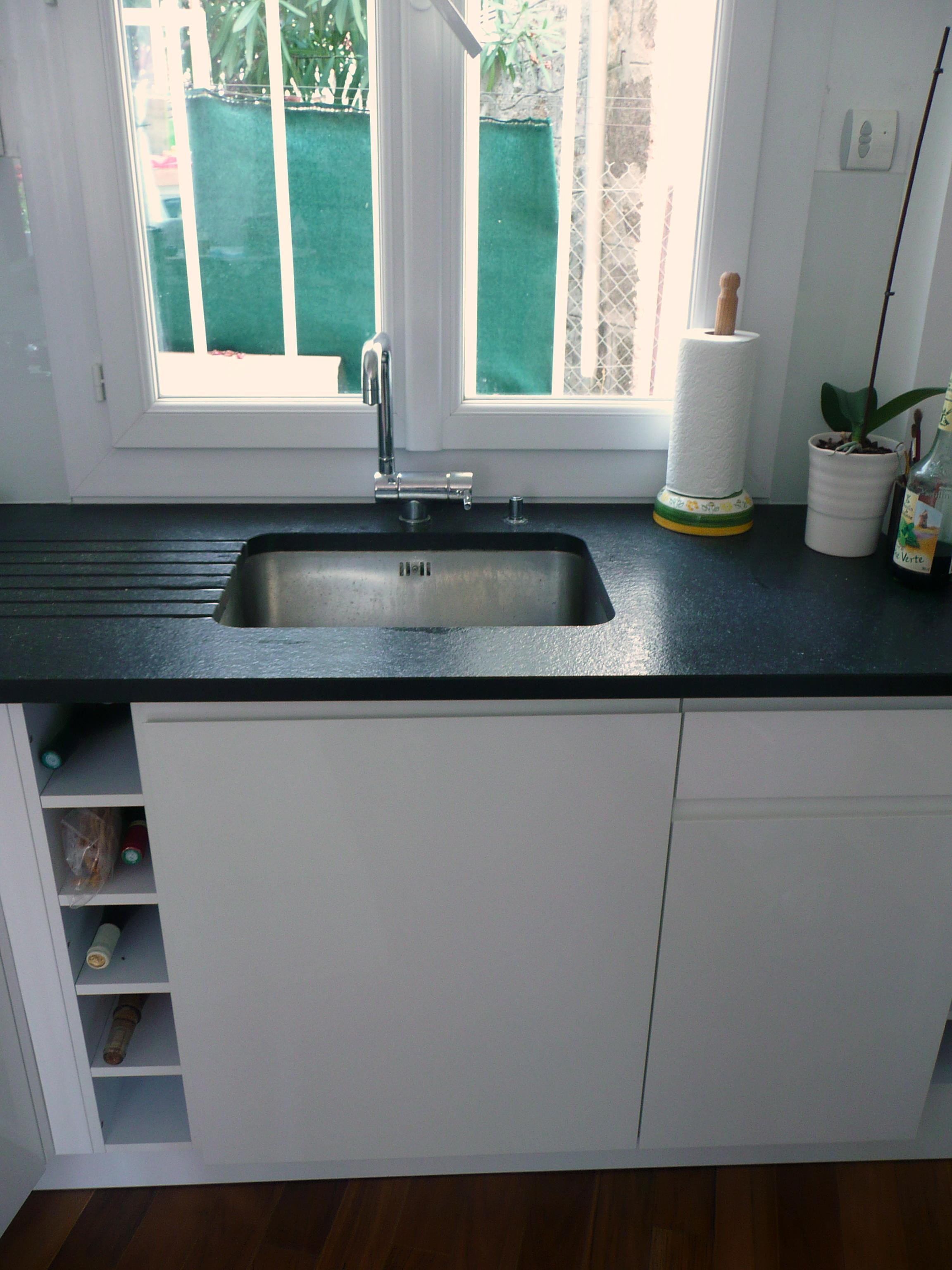 plan de travail cuisine 2 cm