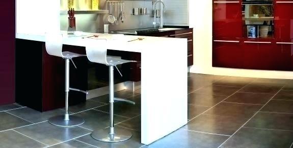 plan de travail cuisine avec table