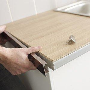 plan de travail cuisine de 4 metres