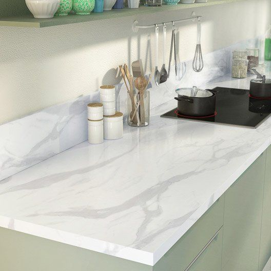 plan de travail cuisine faux marbre. Black Bedroom Furniture Sets. Home Design Ideas