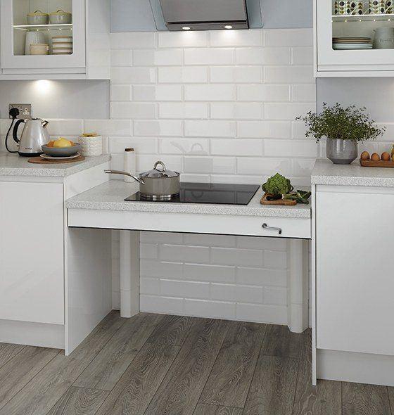Plan de travail cuisine hauteur variable - Hauteur plan de cuisine ...