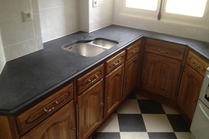 Plan de travail cuisine marbre - Plan de travail cuisine en granit prix ...