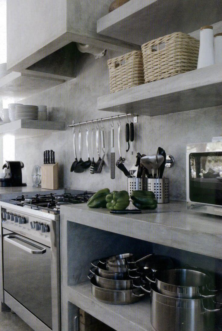 plan de travail cuisine ouverte