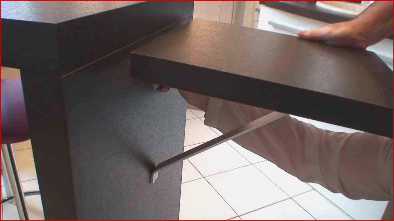 plan de travail cuisine pliable. Black Bedroom Furniture Sets. Home Design Ideas