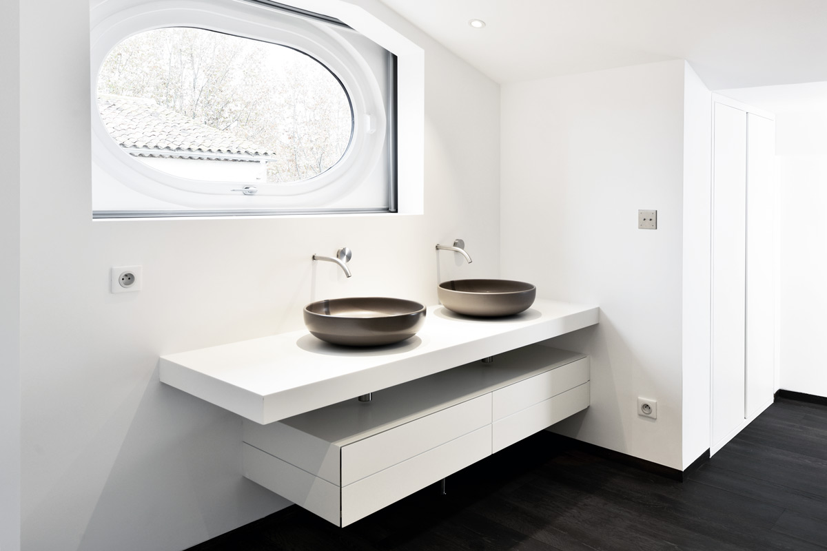 plan de travail cuisine pour salle de bain