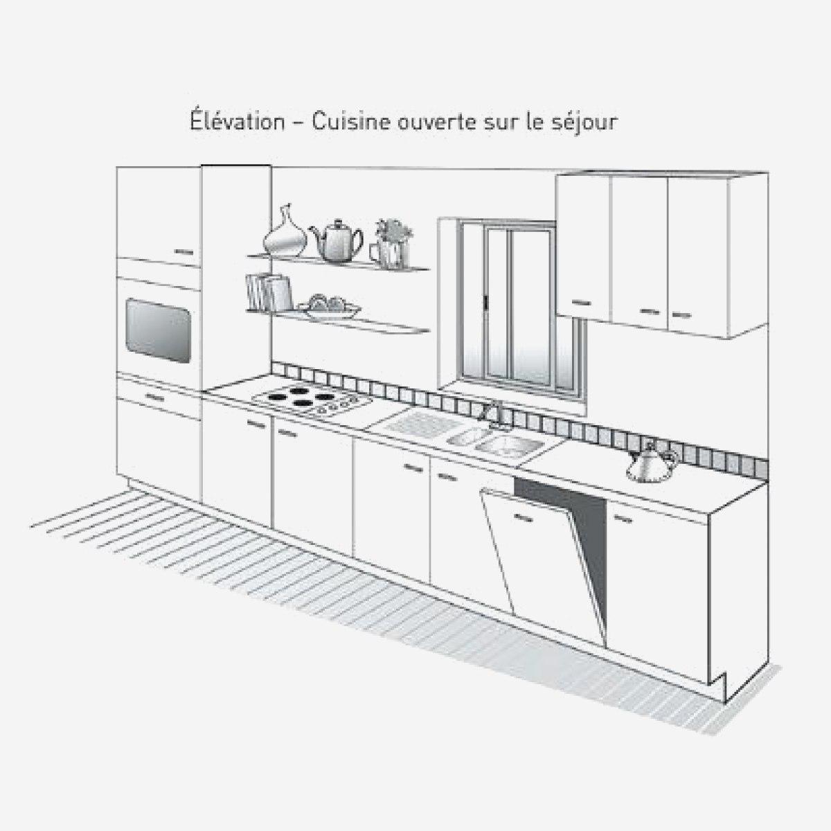 plan de travail cuisine profondeur 67 cm