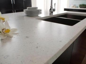 plan de travail cuisine quartz