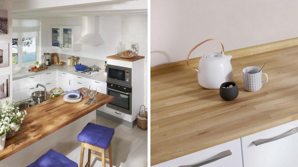 plan de travail cuisine vernis ou huile