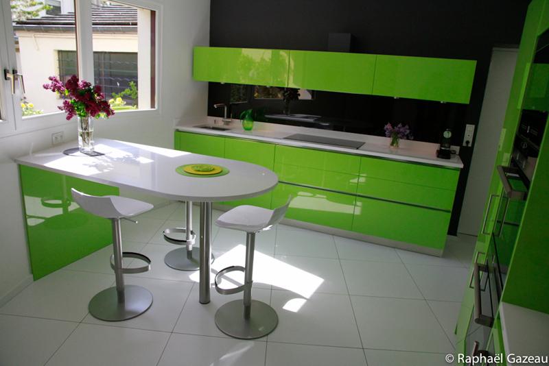plan de travail cuisine vert pomme. Black Bedroom Furniture Sets. Home Design Ideas