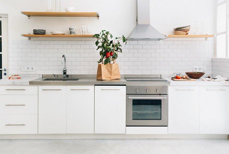 credence cuisine metro blanc