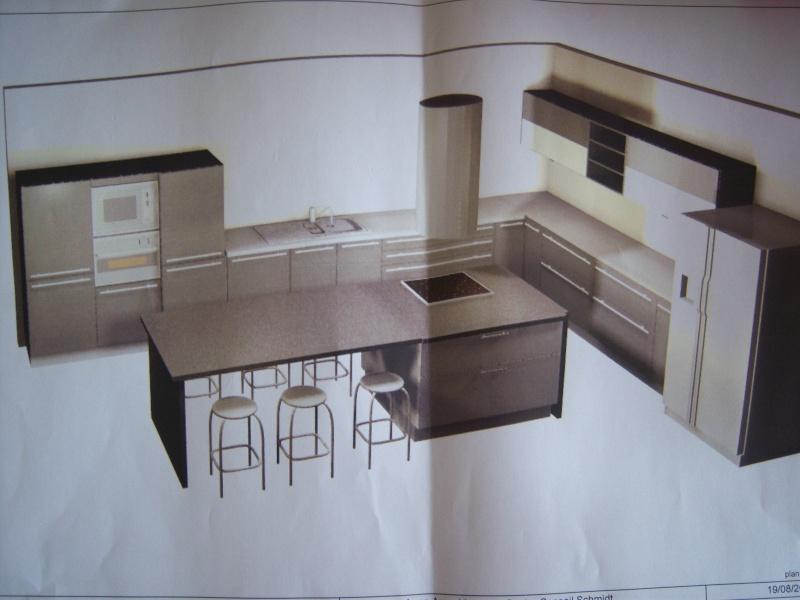 ilot cuisine 3m