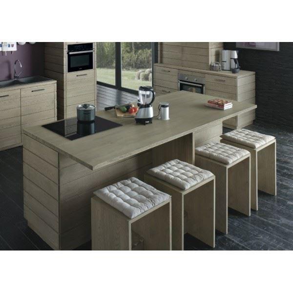ilot cuisine meuble