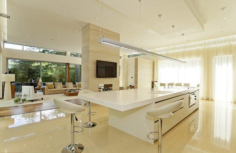 ilot cuisine salon