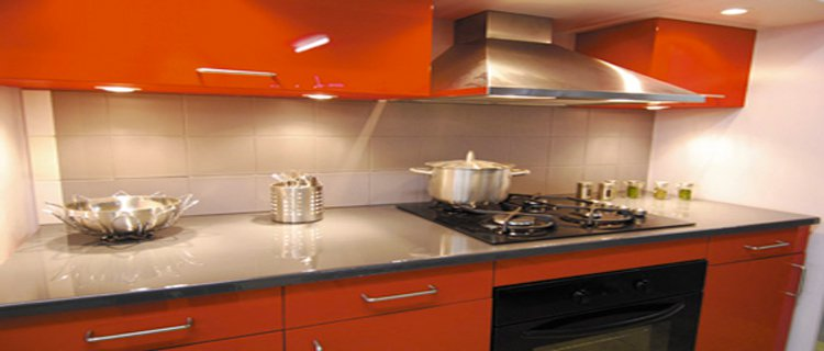 plan de travail cuisine avec rebord