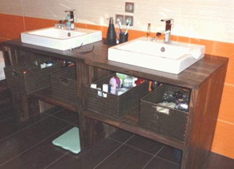 plan de travail cuisine et salle de bain