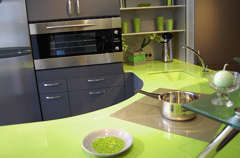 plan de travail cuisine lave emaillee